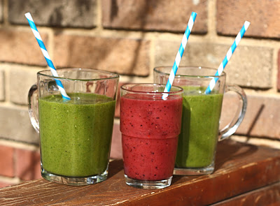 3 Delicious Detox Smoothies post holiday