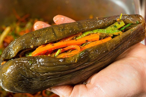Pickled Eggplant I love to cook